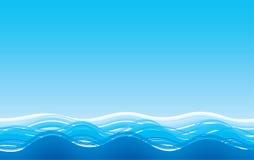 Fondo abstracto del mar stock de ilustración