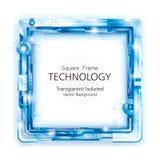 Fondo abstracto del marco de la tecnología stock de ilustración