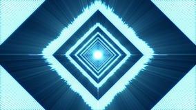 Fondo abstracto del metro del VU del azul ilustración del vector