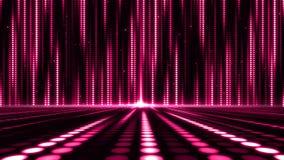 Fondo abstracto del modelo de puntos ligeros del movimiento de Digitaces para el diseño de la etapa Imagenes de archivo