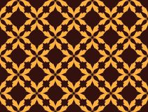 Fondo abstracto del modelo del ornamento floral Imágenes de archivo libres de regalías
