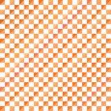 Fondo abstracto del modelo del triángulo del mosaico, ejemplo geométrico anaranjado del vector del fondo Foto de archivo libre de regalías
