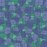 Fondo abstracto del mosaico Fotos de archivo