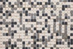 Fondo abstracto del mosaico Fotografía de archivo