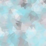 Fondo abstracto del mosaico de polígonos triangulares Foto de archivo libre de regalías