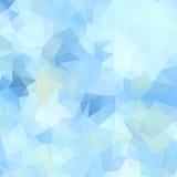 Fondo abstracto del mosaico de polígonos triangulares Imagen de archivo