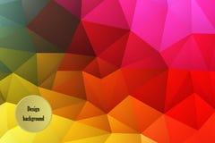 Fondo abstracto del mosaico del color Fotografía de archivo libre de regalías