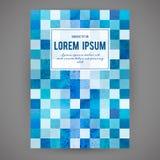 Fondo abstracto del mosaico en vector Fotografía de archivo libre de regalías