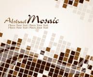 Fondo abstracto del mosaico, ilustración. Imagen de archivo