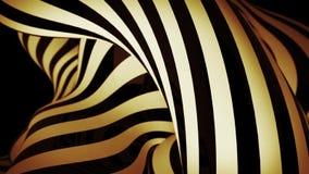 Fondo abstracto del movimiento con las líneas móviles de la cebra almacen de video