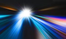 Fondo abstracto del movimiento de la velocidad Fotos de archivo