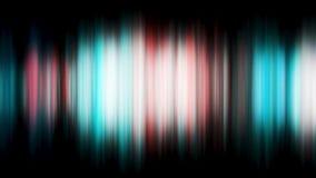 Fondo abstracto del movimiento, luces brillantes, ondas y partículas, lazo inconsútil de la energía capaz Abstraiga las luces col Fotografía de archivo libre de regalías