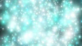 Fondo abstracto del movimiento, luz brillante, estrellas, partículas libre illustration