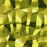 Fondo abstracto del oro con los reflejos de luz que se asemejan a la hoja de metal ilustración del vector