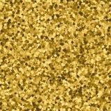 Fondo abstracto del oro Modelo inconsútil Foto de archivo libre de regalías