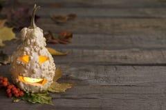 Fondo abstracto del otoño con la calabaza de Halloween Imagenes de archivo