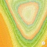 Fondo abstracto del paisaje mosaico Foto de archivo libre de regalías