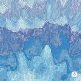 Fondo abstracto del paisaje Vector del mosaico Foto de archivo