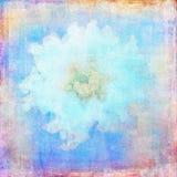 Fondo abstracto del papel de la flor Foto de archivo