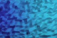 Fondo abstracto del polígono Fotos de archivo libres de regalías