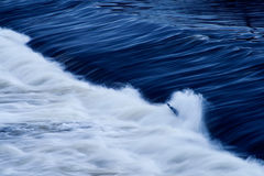 Fondo abstracto del río Foto de archivo