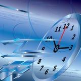 Fondo abstracto del reloj digital, concepto del tiempo Imágenes de archivo libres de regalías