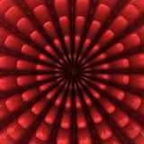 Fondo abstracto del rojo 3d Fotos de archivo libres de regalías