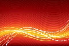 Fondo abstracto del rojo del vector ilustración del vector