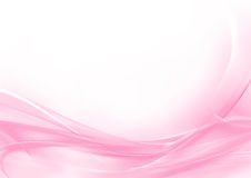 Fondo abstracto del rosa en colores pastel y del blanco stock de ilustración
