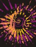 Fondo abstracto del sol Imagenes de archivo