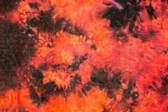 Fondo abstracto del teñido anudado Imagen de archivo libre de regalías