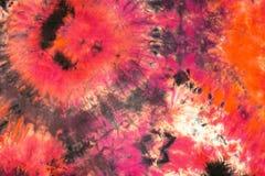 Fondo abstracto del teñido anudado Foto de archivo libre de regalías