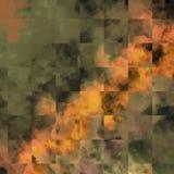 Fondo abstracto del tema del collage Fondo texturizado marco de la foto stock de ilustración