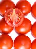 Fondo abstracto del tomate imagenes de archivo