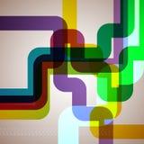 Fondo abstracto del tubo. Imagen de archivo