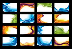 Fondo abstracto del vector Fotos de archivo libres de regalías