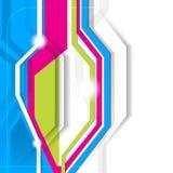 Fondo abstracto del vector Fotografía de archivo