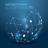 Fondo abstracto del vector Imagen de archivo