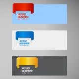 Fondo abstracto del vector. Color de la etiqueta Imágenes de archivo libres de regalías