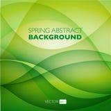 Fondo abstracto del vector con las ondas Imagenes de archivo