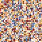 Fondo abstracto del vector Consiste en elementos geométricos Los elementos tienen una forma cuadrada y un diverso color Fotografía de archivo