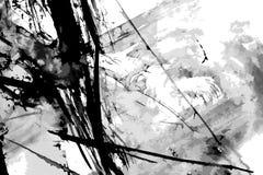 Fondo abstracto del vector de la pintura de la tinta ilustración del vector