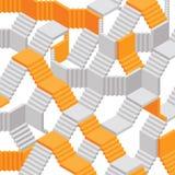 Fondo abstracto del vector de las escaleras libre illustration