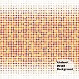 Fondo abstracto del vector de los puntos Foto de archivo libre de regalías