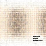 Fondo abstracto del vector de los puntos Imágenes de archivo libres de regalías