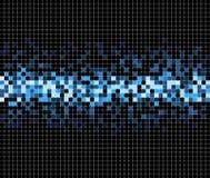 Fondo abstracto del vector del mosaico del pixel Ilustración del Vector