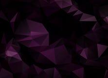 Fondo abstracto del vector del papel pintado del polígono de los triángulos Web d Fotografía de archivo