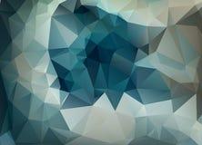 Fondo abstracto del vector del papel pintado del polígono de los triángulos Web d Fotografía de archivo libre de regalías