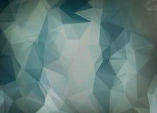 Fondo abstracto del vector del papel pintado del polígono de los triángulos Web d Imágenes de archivo libres de regalías
