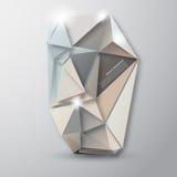 Fondo abstracto del vector. Modelo poligonal Foto de archivo